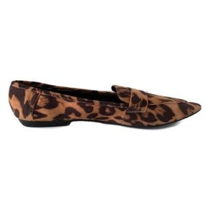 🌻Fergie Leopard Pointed Toe 💗 Flats Size 8.5 🛍